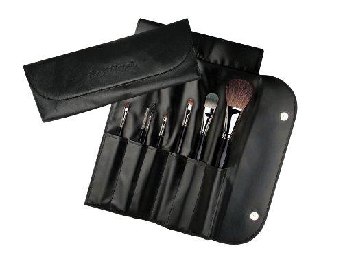 DA VINCI PROFESSIONAL Pochette-pack trousse cuir avec 7 Pinceaux une pièce