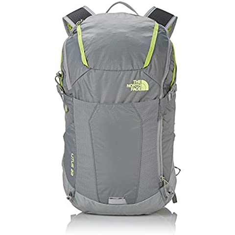 The North Face CLJ3AGL  Zaino Litus 22-RC, 22 litri, colore: Grigio/Verde (Zinc Grey/Macaw Green)