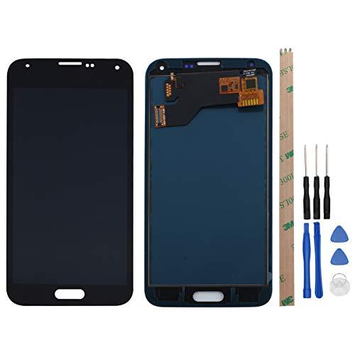 West Dragon LCD Touchscreen für Samsung Galaxy S5 Display Ersatz Bildschirm Komplettes mit Werkzeuge für Samsung Galaxy S5 G900F (Schwarz) (Schwarz S5-bildschirm Galaxy)