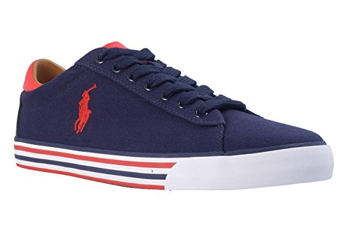 POLO Ralph Lauren - Sneakers - Herren - Sneakers Harvey Stripe Sole Blau für herren - 44 (Ralph Lauren Polo Hausschuhe)