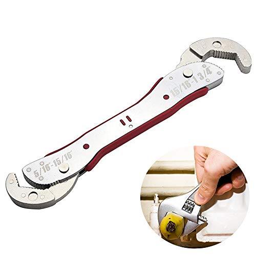 Womdee Maulschlüssel Verstellbar, Maulschlüssel Set für 9-45 mm Schraubenschlüssel Satz