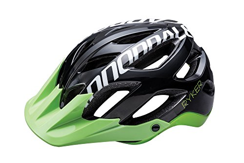 Cannondale Ryker MTB Fahrrad Helm schwarz/grün 2017: Größe: S (51-55cm)