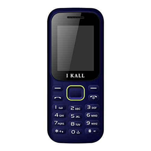 I Kall K31 1.8 Inch Colour Display Multimedia Mobile Without Camera (Blue)