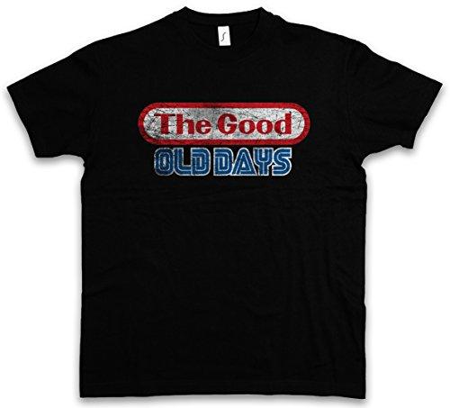 Urban Backwoods The Good Old Days T-Shirt – Taglie S – 5XL Nero