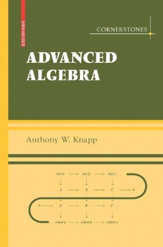 Advanced Algebra: With a Companion Volume 'Basic Algebra' (Cornerstones)