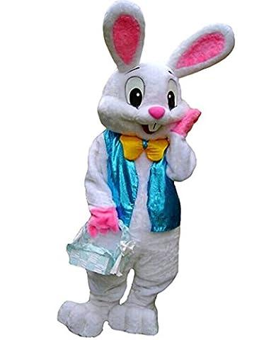 kaninchen kostüm Unisex erwachsene größe Lust party - kleid (Bier Kaninchen)