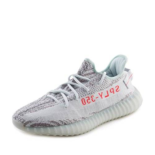 adidas Yeezy Boost 350 V2 Blue Tint - B37571 - Size 9.5 -