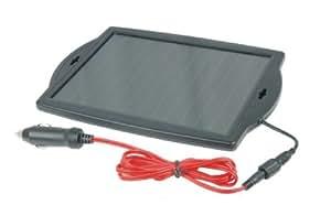 Visua Solar Powered Battery Charger. Ideal for Cars, Caravans and Boats (1.8 Watt)