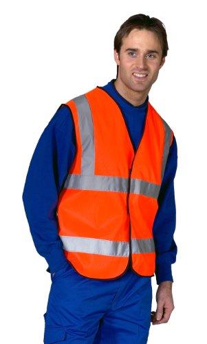 Händler Workwear High Visibility Vest Polyester Large Yellow Ref. DWHVYL