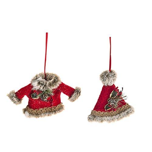 Sass & Belle Alpin-Kostüm, Weihnachtsmütze und Mantel, 2 (Belle 2 Stück Kostüm)