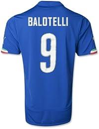 PUMA dryCELL Balotelli Italia Casa Hombres auténticos de jersey 747249–01-747249-01_L, L, Azul