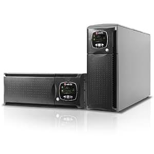 Riello Sentinel Dual 3300VA 3sortie(s) CA Rack/Tour Gris alimentation d'énergie non interruptible - alimentations d'énergie non interruptibles (3300 VA, 2300 W, 180 V, 264 V, 50/60, 3:1)