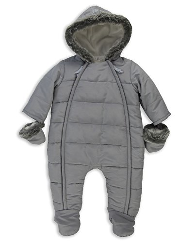 The Essential One - Baby-Unisex - Schneeanzug - Grau - 50-56cm - EO246