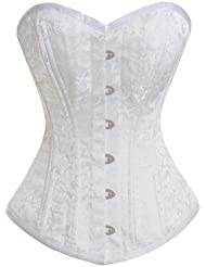 Corsets365 Blanc Corset Serre Taille HB-013