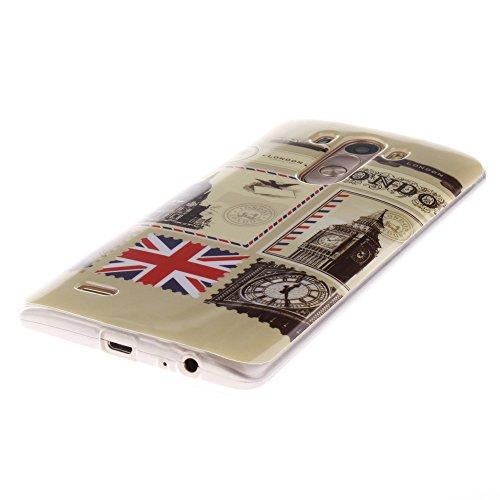 LG G3 hülle MCHSHOP Ultra Slim Skin Gel TPU hülle weiche Silicone Silikon Schutzhülle Case für LG G3 - 1 Kostenlose Stylus (Das Gesetz der Schwerkraft (The law of gravity)) Briefpapier und Umschläge Stempel (Letter Paper and Envelope Stamp)