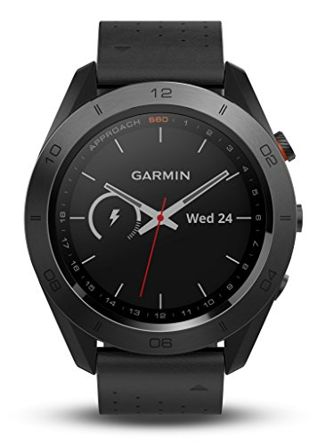 Garmin - Approach S60 Premium - Montre GPS de golf - Noire