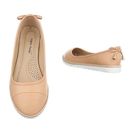 Ital-Design - Scarpe chiuse Donna Camel 2891