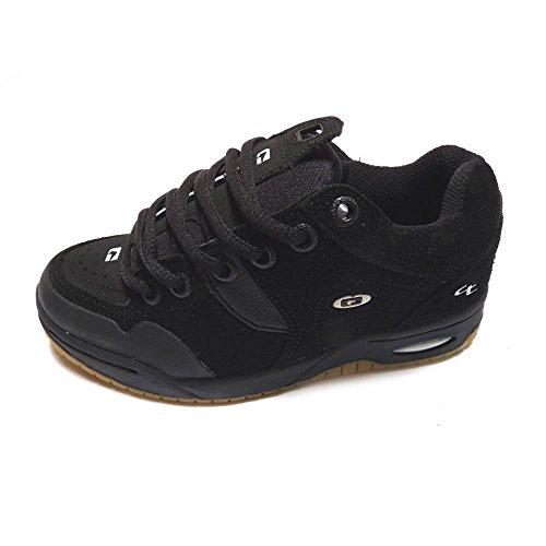 Globe Chet Thomas (6) Black Gum, Schwarz - Schwarz - schwarz - Größe: 32 1/2 (Globe Schuhe Größe 6)
