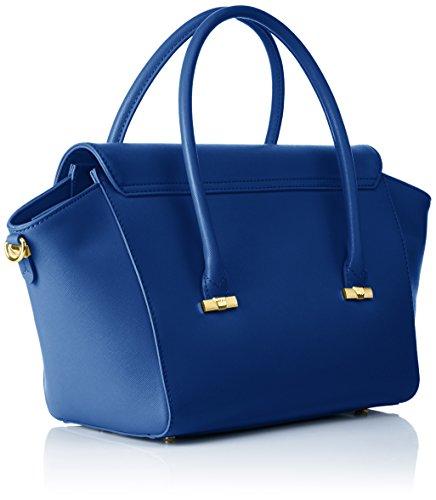 Trussardi 75b492xx53, Borsa a Mano Donna, 47 x 25 x 18 cm (W x H x L) Blu (Blue Royal)