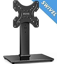 Eono by Amazon TV Standfuß TV Ständer Fernsehstand für 19 bis 39 Zoll OLED LCD Plasma Flach & Curved Fernseher oder Monitore