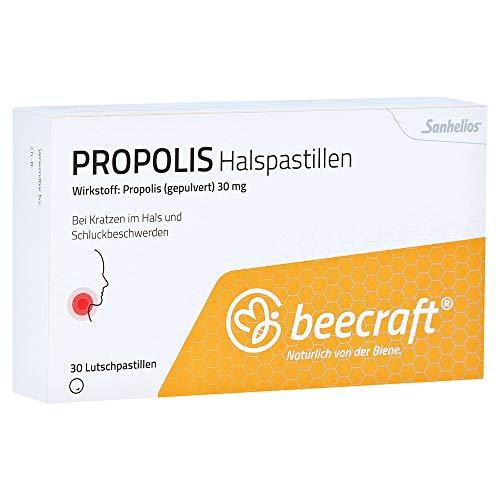 BEECRAFT Propolis Halspastillen 30 Stück