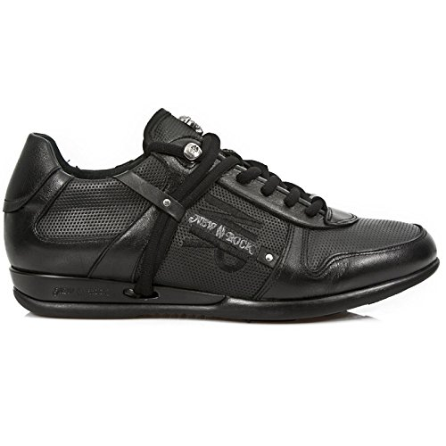 New Rock M Hy001 S8, Herren Sneakers Schwarz (Noir)