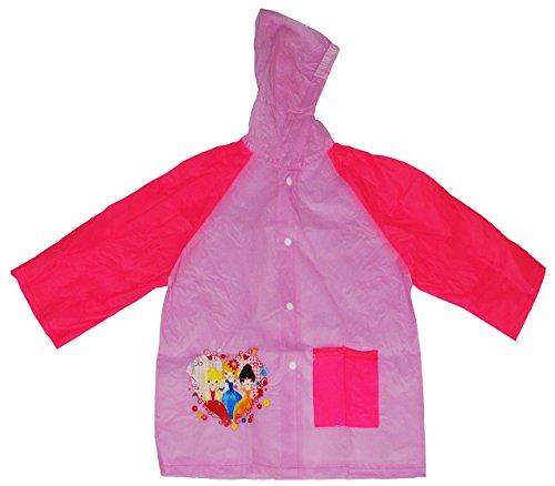 ze / Regenjacke - Prinzessin - Gr. 128 - 134 _ für 7 bis 8 Jahre - für Kinder - Mädchen Fahrrad Prinzessinen / Regen Jacke - Regenponcho (Land Mädchen Jacken)