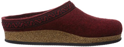 Stegmann 108 , Chaussons mixte adulte Rouge (8817 Firebrick)
