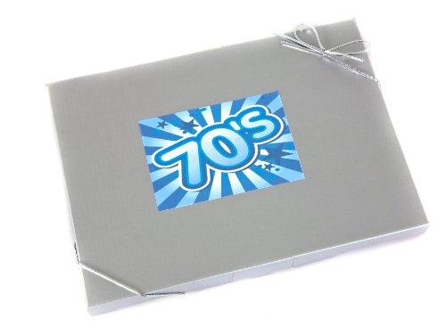 'Sweet in the 70's' - Retro Sweet Selection in Silver Gift Box