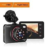Dash Cam,TryAce Car Camera Night Vision Dashcam 1080P Full HD Car Video Recorder