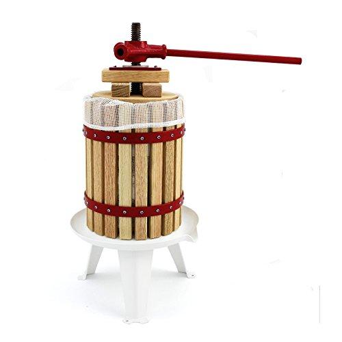 KuKoo Prensador de Fruta Extractor Filtro Jugo Exprimidor Manual Prensa Naranja,Vino | Incl....