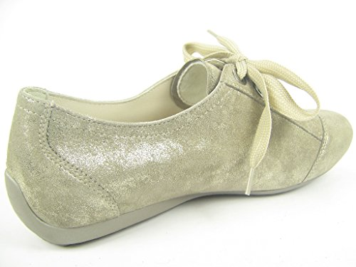 Semler N6056-031-027, Scarpe stringate donna Argento (oro metallizzato)