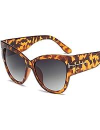 Axiba Personalidad Europeos y Americanos con Ojo de Gato Gafas de Sol Moda T Palabra Gafas