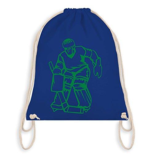 Eishockey - Eishockey - Unisize - Royalblau - WM110 - Turnbeutel & Gym Bag