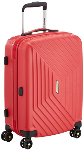 American Tourister Air Force 1 - Maleta, Rojo (Flame Red), S (55cm-34L)