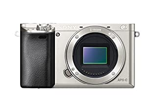 "Sony Alpha 6000 Systemkamera (24 Megapixel, 7,6 cm (3"") LCD-Display, Exmor APS-C Sensor, Full-HD, High Speed Hybrid AF) silber (B00IEYENZC) 