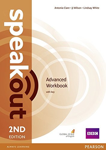 Speakout Advanced 2nd Edition Workbook with Key por Antonia Clare