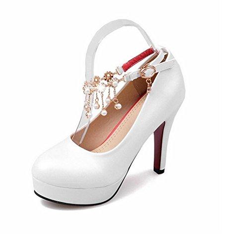 Corrente DA DONNA PUMPS scarpe tacchi alti 3124 BIANCO 38