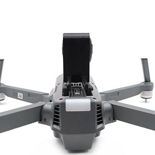 LCLrute Hohe Qualität STARTRC 3D Printed erweitertes Fahrwerk mit LED-Leuchten für DJI Mavic Pro Drone Parts (Schwarz)