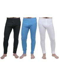 Lot de 3 Couleurs de Sous-vêtements Longs Thermique pour Hommes , Choix de Tailles