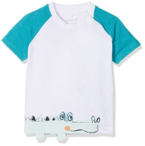 detailed look 8593f 6bc52 NAME IT Baby-Jungen T-Shirt NBMDETUS SS TOP Weiß (Bright White)