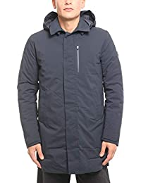 Blue Mod Autunno Impermeabile Black Cappotti D4202m The Save Uomo Matt7 Cappuccio Duck Ew1CzEfq