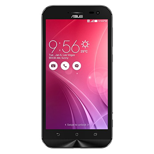 """ASUS Zenfone ZOOM - Smartphone libre Android (pantalla 5.5"""", cámara 13 Mp con zoom óptico, 64 GB, Atom Z3 2.3GHz, 4 GB de RAM), negro"""