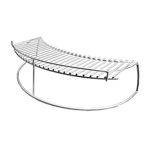 onlyfire BBQ Warming Rack for Weber Char Broil Kettle Charcoal Grill Kamado Cermic Grill and Smoker ...