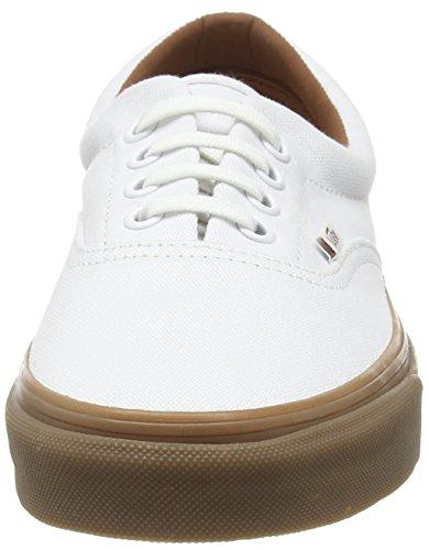 Vans U Weiß erwachsene gumsole medium Unisex Era Sneakers True Gum White ggxdFrqw