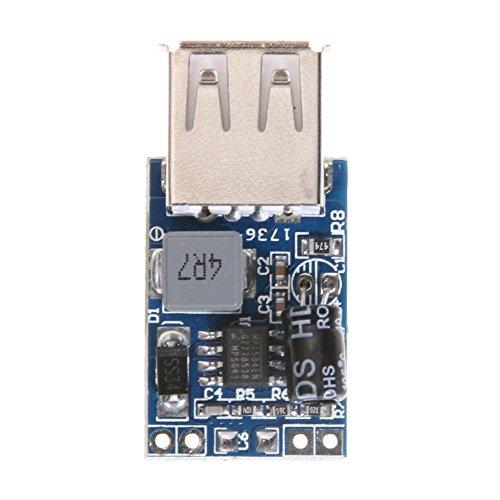 asiproper-7–28V zu 5V 3A max Konverter Spannung Step Down Power Regulator Module