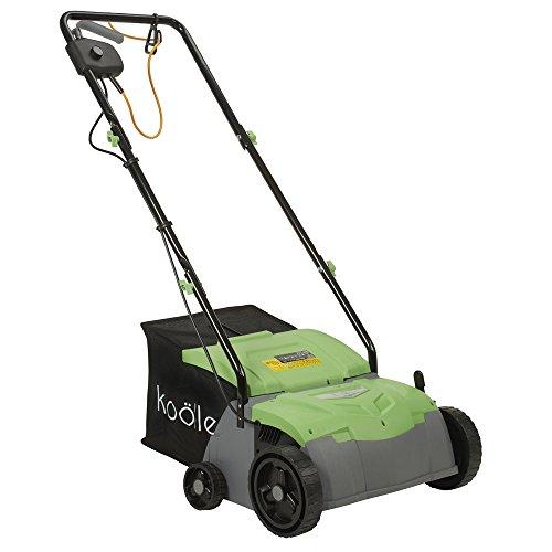Powerful 2-in-1 Lawn Rake and Scarifier 1400 Watts - 2 year warranty by Koolle Test