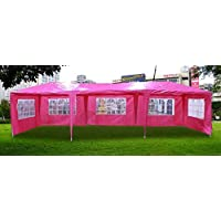New 30'x10' Outdoor Party Wedding Tent Gazebo Events Pavilion - Pink by Cielo - Blue