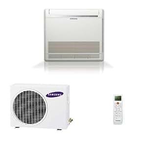 SAMSUNG - Unité exterieure Climatiseur console mono split double flux réversible inverter AC035FCADEH 4000W