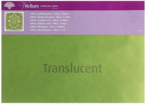 Pergamano Pergamentpapier–Sparkling Grün